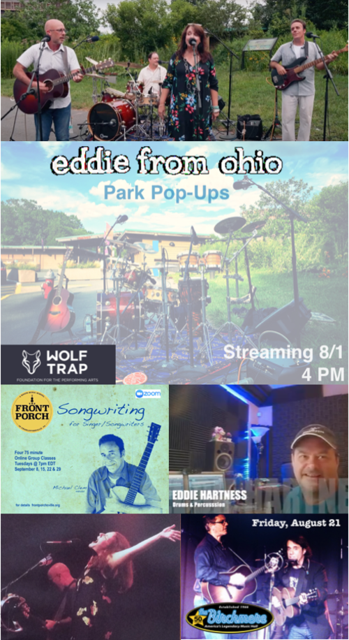 EDDIE FROM OHIO AUGUST 2020 EMAILER